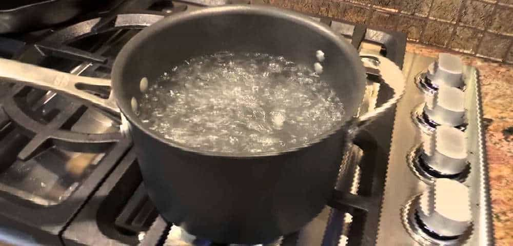 Boiling Water on the Dandelions