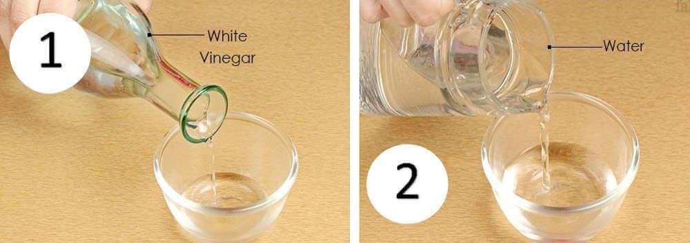 white vinegar weed killer