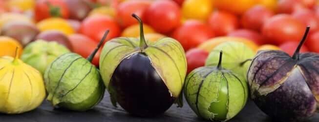 ripe tomatillos