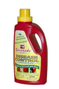 Serenade Garden AGRSER32 Disease Control Effective Organic Fungicide, 32-Ounce, OMRI Listed
