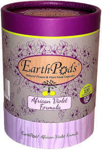 EarthPods Premium African Violet Plant Food-Easy Organic Fertilizer Spikes