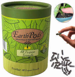 EarthPods Premium Indoor Plant Food – Easy Organic Fertilizer Spikes